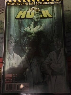 Marvel Totally Awesome Hulk #20 Weapons Of Mutant Destruction Part 2 1st Print