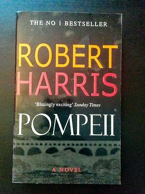 Pompeii by Robert Harris - Historical Mystery Adventure Novel