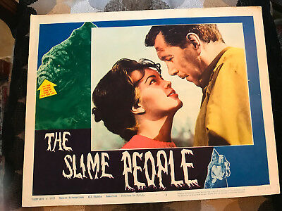 The Slime People 1963 Hansen horror lobby card Robert Hutton Susan Hart