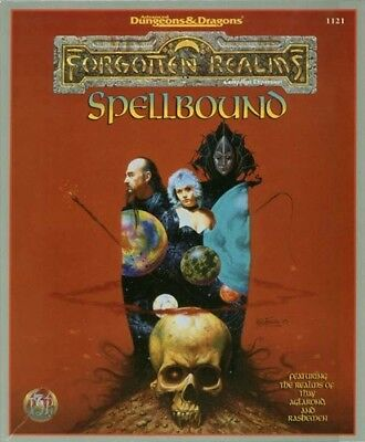 Spellbound | Forgotten Realms | Boxed Set | AD&D II | TSR 1121 | nearly new
