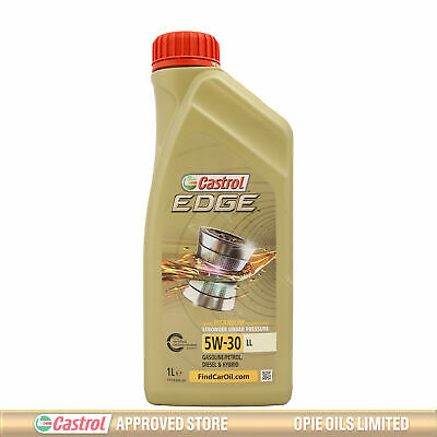 Castrol EDGE Titanium 5W-30 LL Fully Synthetic Engine Oil 5W30 1 Litre 1L