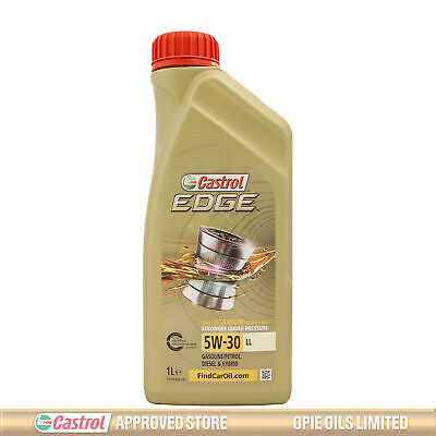 Castrol EDGE Titanium FST 5W-30 LL Fully Synthetic Engine Oil 5W30 1 Litre 1L