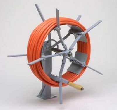 """Hykon Olympic 99 Reeler 12"""" ID Collapsible Coiler Wire Spooler W/Stand FREE SHIP"""