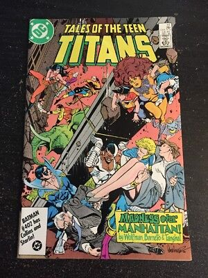 Tales Of Teen Titans#72 Incredible Condition 9.2(1986) Barreto Art!!