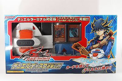 <UN USED> Yu-Gi-Oh 5D's Duel Disk Launcher Yusei Version DX from Japan K001