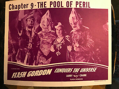 Flash Gordon Conquors The Universe 1940 Universal Carol Hughes Frank Shannon