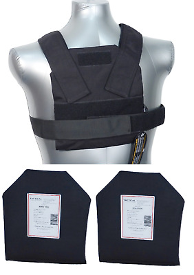 Tactical Scorpion Level IIIA Soft Body Armor Bobcat 8x10 Concealed Vest