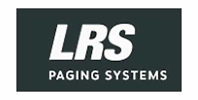 Lrs Long Range Systems RX-SP4 Long Range Systems Rechargeable Server Pager Sm...