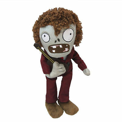 Plants vs Zombies Dancing Disco Zombie Plush Toy - NEW - FREE FAST USA SHIPPING