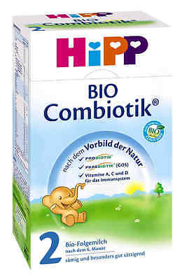 800g Hipp Combiotic 2 Organic Follow-On Milk Made in Germany