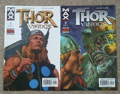 Thor Vikings MAX Issues 1 & 2 FIRST PRINT