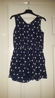 GIRLS SHORT PLAYSUIT BY NEXT AGE 9 yrs IN EXCELLENT CONDITION