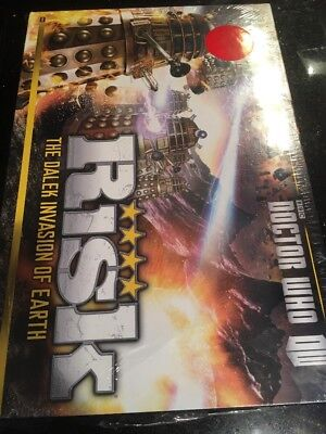 Dr Who Risk Board Game Dalek Armies Battle Forces Invasion Earth Universe New