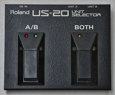 ROLAND US-20 Unit Selector; Umschalter; Switch for VG-8 / 88; GR-33 / 55 TOP!!!