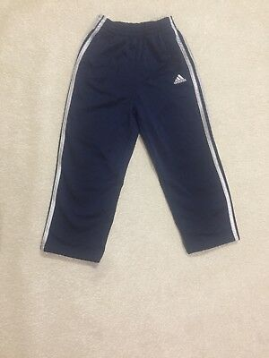 adidas toddler Thick Athletic Blue Pants size 4t