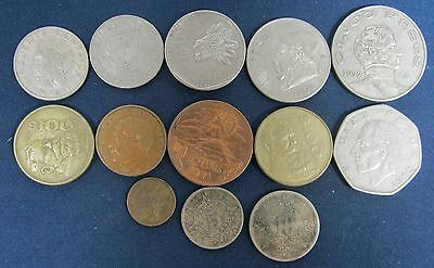 13 Vintage Mexico coins, Dating back to 1937