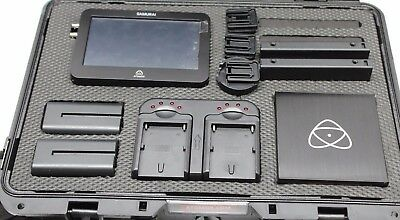 Used Atomos Samurai Blade Set ,cords charger batteries in the case 100% Works