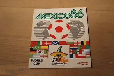 Panini  WORLDCUP MEXICO 1986 86 COMPLETE