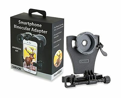 Carson HookUpz Universal Smartphone Digiscoping Adapter for Most Full Sized B...