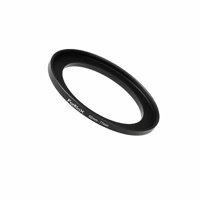 Fotodiox Metal Step Up Ring Filter Adapter Anodized Black Aluminum 62mm-77mm ...