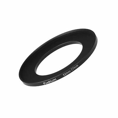 Fotodiox Metal Step Up Ring Filter Adapter Anodized Black Aluminum 52mm-77mm ...