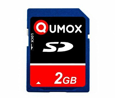 2GB Qumox SD Secure Digital Memory Card