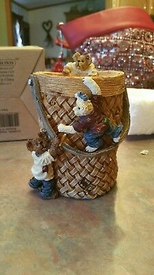 Boyds Bears & Friends The Boyds Collection Scribble Doodle Jot Keepin it...