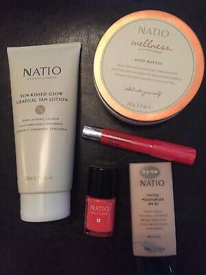 Natio Products- Brand New- All 5 items for $25