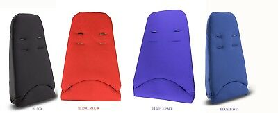 Quinny Buzz Xtra Seat inlay In Rocking Black | Blue Base | Red Rumour | Purple