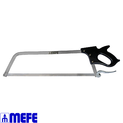 """Butcher Meat Saw 25"""" (635mm) - Cam Lock - Stainless Steel (CAT 123S)"""