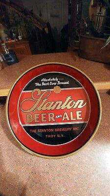 Stanton Beer and Ale Tray Troy N.Y.