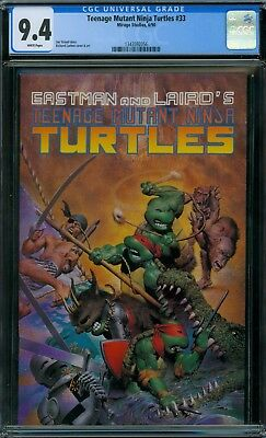 Teenage Mutant Ninja Turtle 33 CGC 9.4 - White Pages - No Reserve Auction