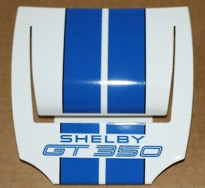(NEW) Ford Mustang Shelby GT 350 Business Card Holder - White w/Blue