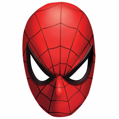 Set Of 12 Marvel Comics Spiderman Mask 14X8 Size Lolly Bags