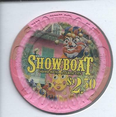 Showboat Casino Hotel********atlantic City********$2.50 Chip