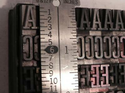 48 Point Tower ATF Letterpress Type Series #587 (18A, 30a)