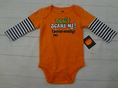 NWT Infant HALLOWEEN ONE PIECE- Size 3-6 months
