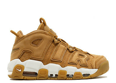 SALE Nike Air More Uptempo PRM Premium 96 Flax Wheat AA4060-200