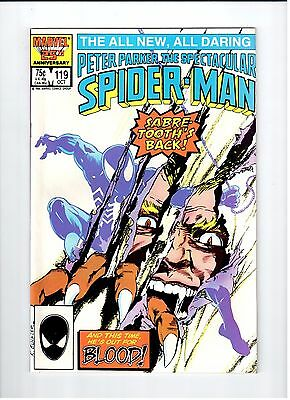 Marvel SPECTACULAR SPIDER-MAN #119 1986 NM Vintage Comic