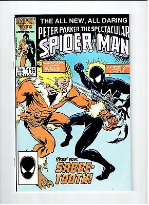 Marvel SPECTACULAR SPIDER-MAN #116 1986 NM Vintage Comic