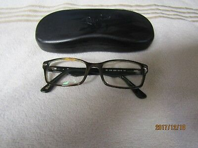 5be7d6462ed28 Ray-Ban Eyeglasses RB5206 5206 2445 Havana Green RayBan Optical Frame 52-18