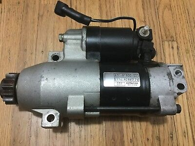 2002 Yamaha100hp 4 stroke Starting Motor, 67F-81800-02-00, 2001-2004, 75hp-100hp