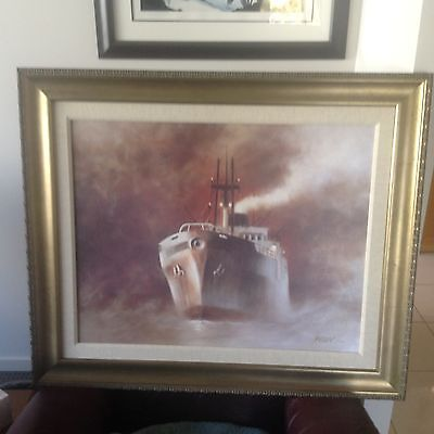 Grey Ghost by John Kelly - Giclee on Canvas  - Signed - Artist Proof. 18 / 20