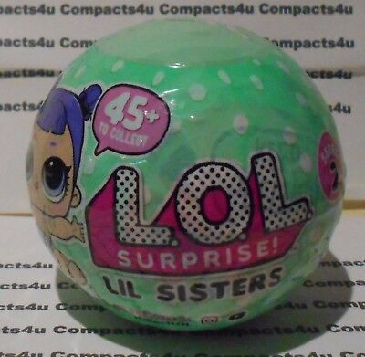 SERIES 2 LOL Surprise LiL Sisters DOLL 5 Layers  AUTHENTIC 1 BALL