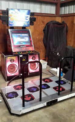 DANCE REVOLUTION In The Groove 2-PLAYER DANCING ARCADE GAME Shipping Available