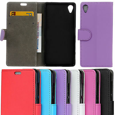 Luxury Magnetic Leather PU Case Wallet Stand Cover Skin For Sony Xperia Experia