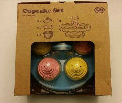 The Original Green Toys Cupcake Set Eco Toy Made in USA Brand NEW