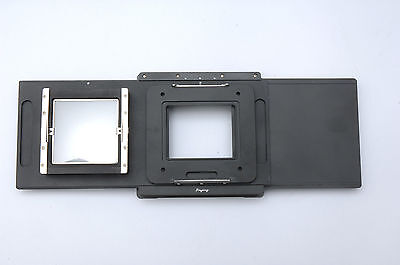 Movable adapter for Hasselblad H Digital Back to Linhof M679