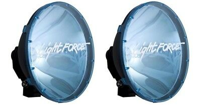 Genuine Lightforce 240 Blitz Blue Driving Spot Light Covers ***brand New***
