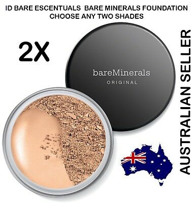 2x Bare MInerals Original Loose Powder SPF 15 id BareMinerals Escentuals 8g